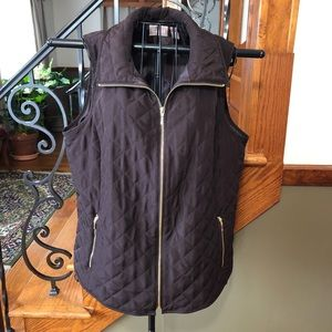Chico's Large 12 Quilted Zip Vest